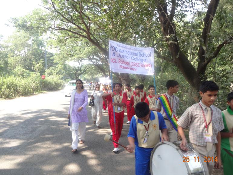 Swacha bharat abhiyan mes hocl school