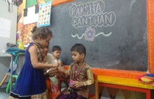 Preprimary Raksha Bandhan Celebration