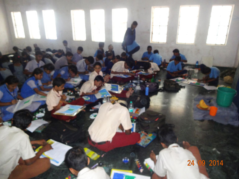 Drawing and Colouring Competition   MES HOCL School