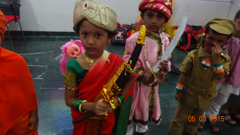 Pre Primary Fancy Dress Competition