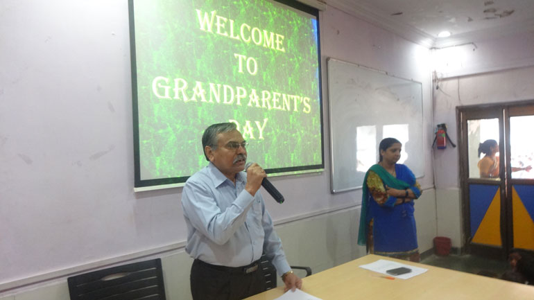 KG Grandparents Day
