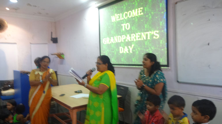 KG Grandparents Day