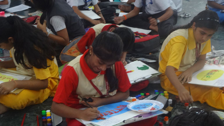 Drawing and Colouring Competition | MES HOCL School