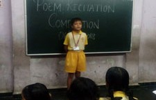 English Poem Recitation Competition