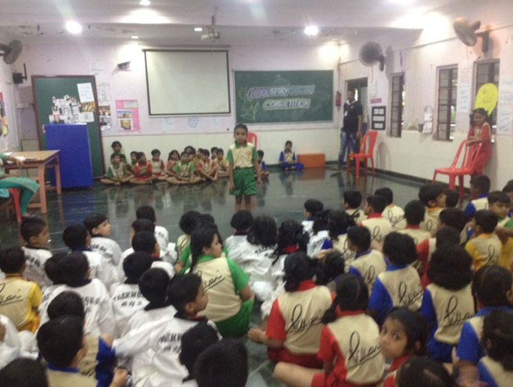 Story Telling Competition | MES HOCL School
