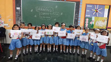 Pre-Primary Drawing Competition 2019-20
