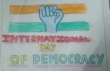 Conceptual Drawing - International Democracy Day