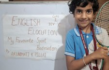 Elocution Competition – National Sports Day
