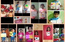Thankyou Card Making for Teachers Day Celebration